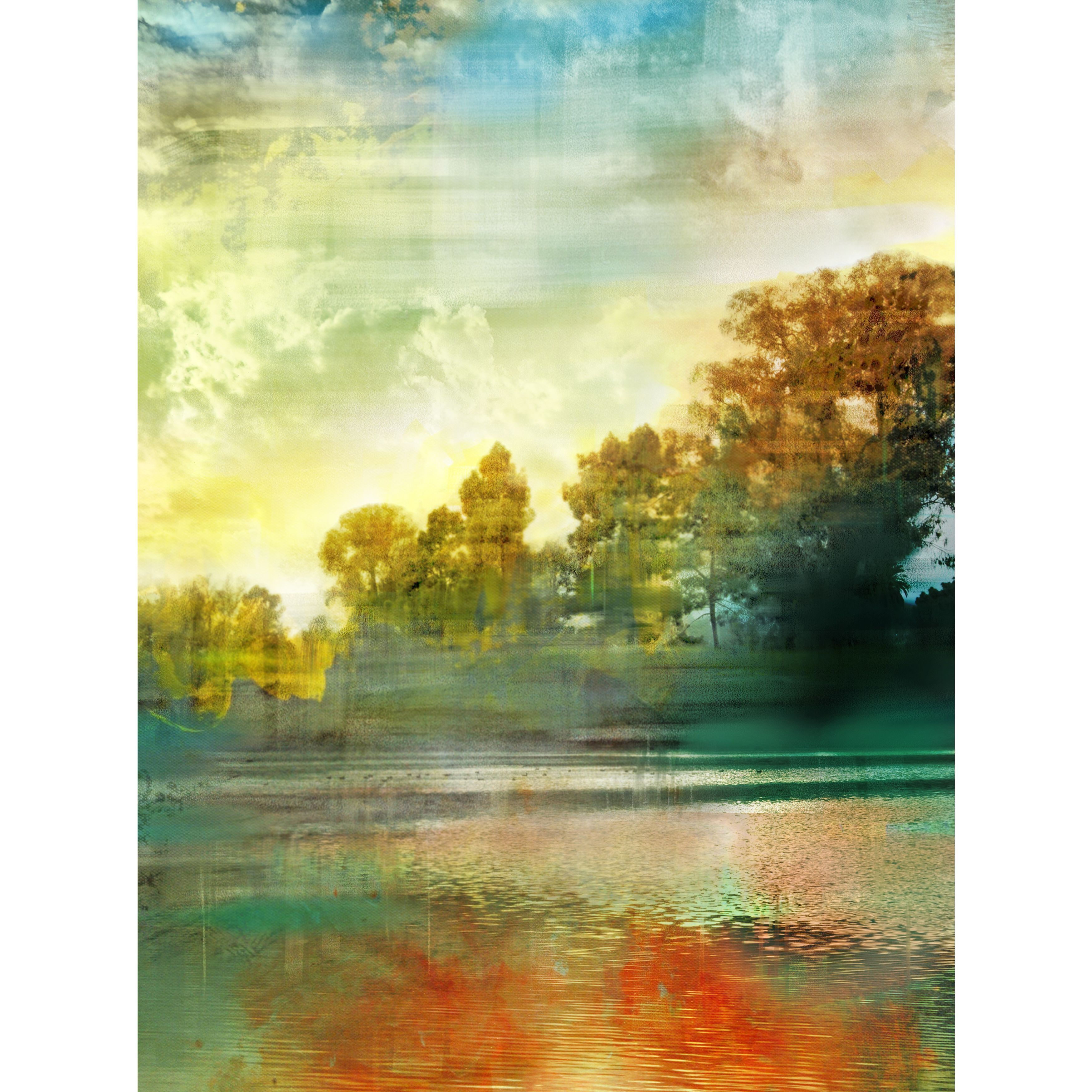 Art in Style Autumn Day Giclee on Canvas Wall Art | Products ...