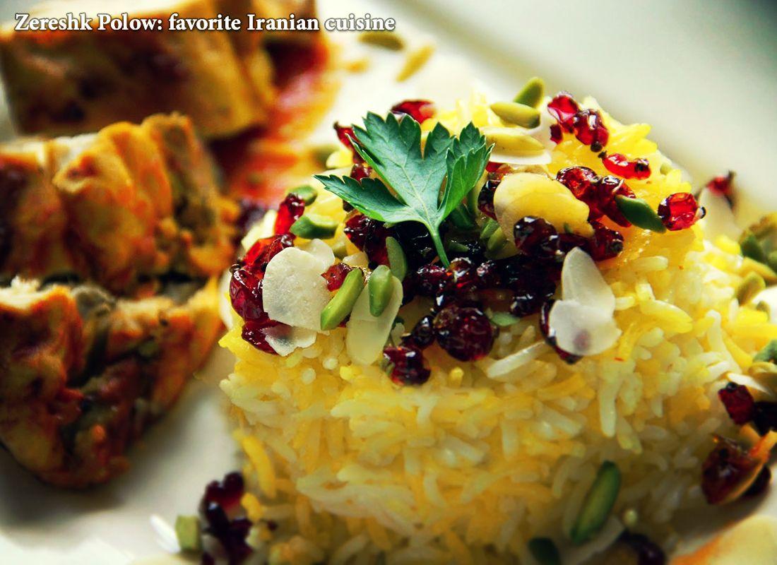 Zereshk polow favorite iranian cuisine zereshk polow which zereshk polow favorite iranian cuisine zereshk polow which literally means barbery rice is a popular forumfinder Images