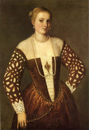 Portrait of a Woman, 1555 by Paolo Veronese (Paolo Caliari) (Italian, Venetian, 1528–1588)