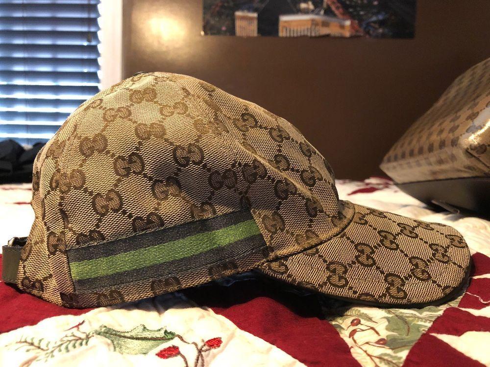 Mens Authentic Gucci Hat  fashion  clothing  shoes  accessories   mensaccessories  hats (ebay link) ddf83e87d64