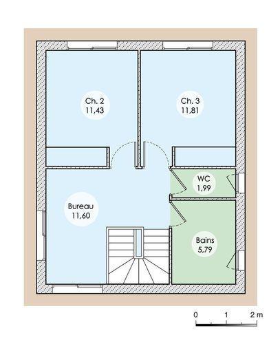 Une maison contemporaine en Isère Maison Pinterest - Construire Sa Maison Plan