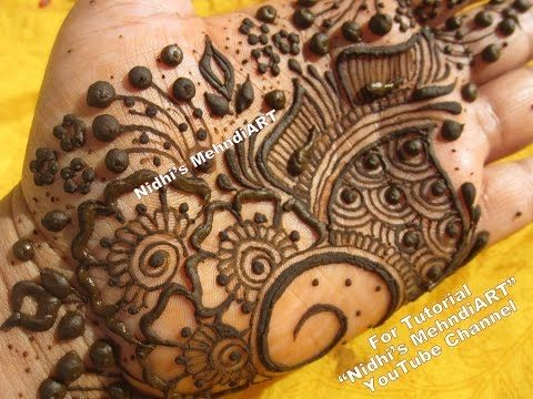 Mehndi Drawing Pictures : Latest mehndi designs for girls simple easy
