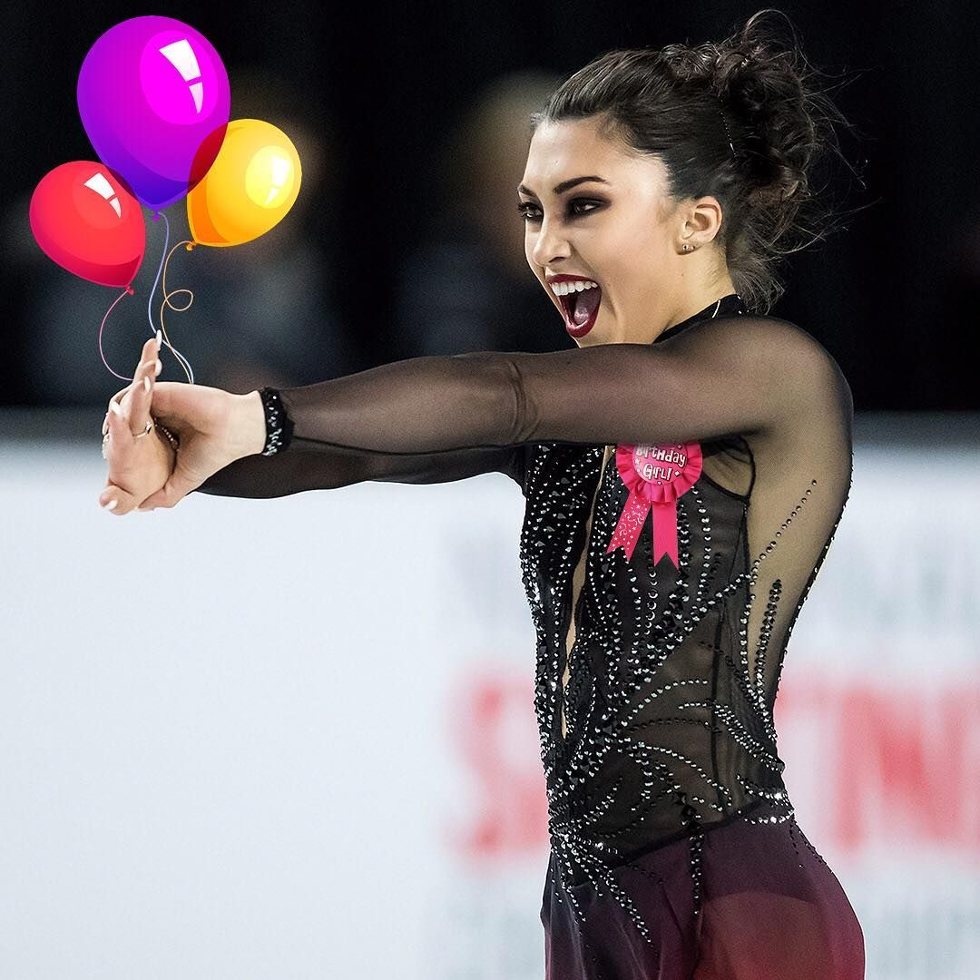 Happy 20th Birthday, @gabby_daleman! 🎂⛸ . . 📸 Darryl Dyck