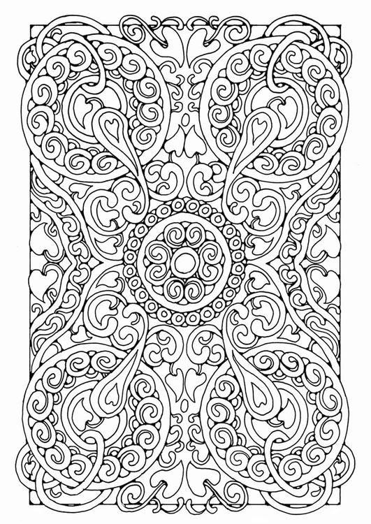 Coloring Page Mandala5a Img 21901 Mandala Coloring Pages Mandala Coloring Coloring Pages
