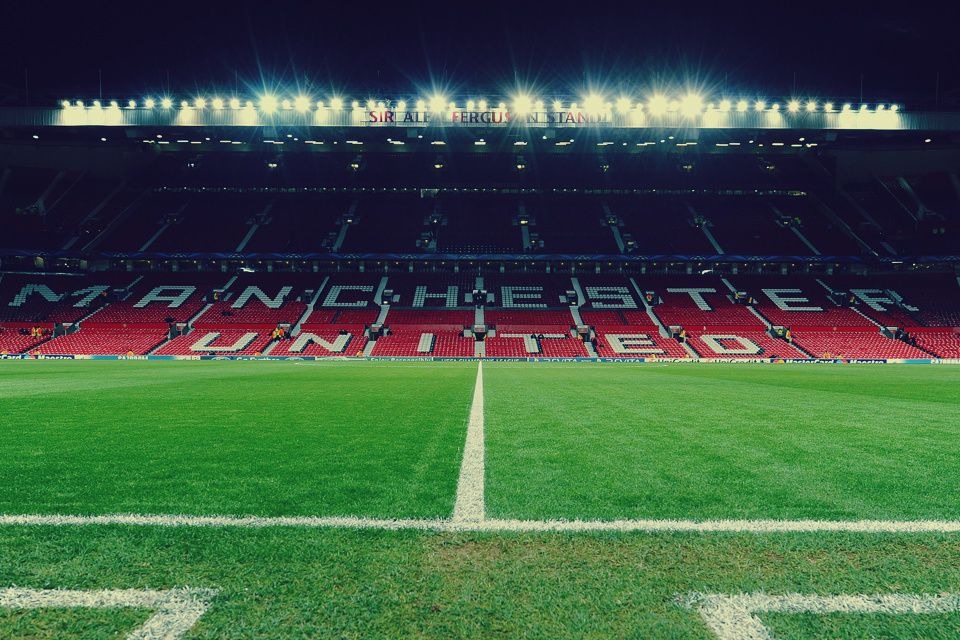Pin By Soccer Com On This Is Where We Play Old Trafford Manchester United Fans Manchester United Soccer