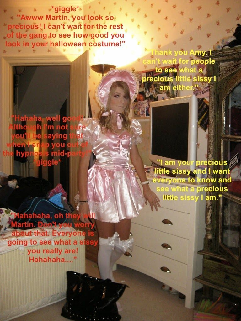 pink and frilly: big plans for halloween | sissy pictures