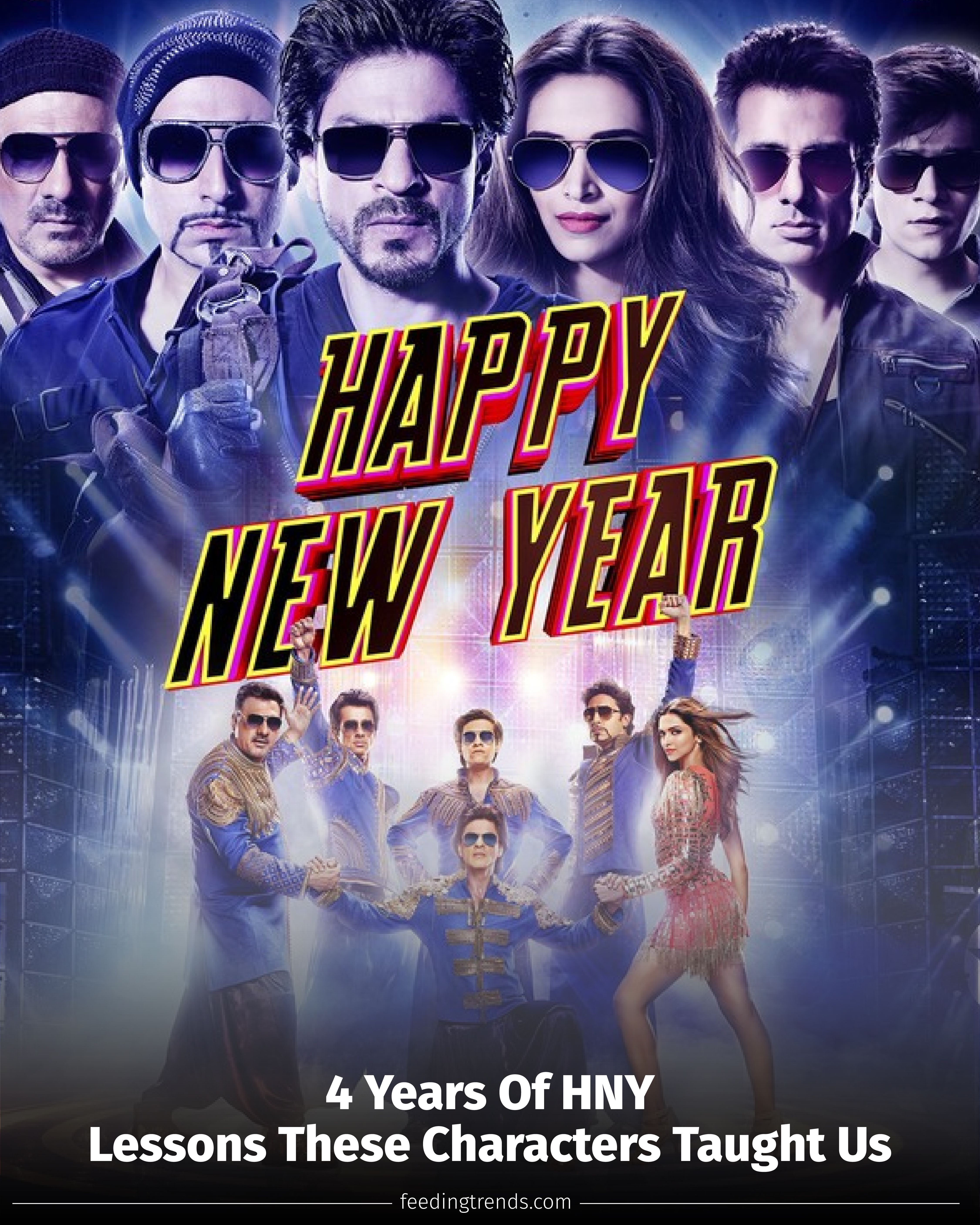 Pin By Feeding Trends On Happy New Year Movie In 2020 Happy New Year Movie Happy New Year Youtube Happy New Year 2014