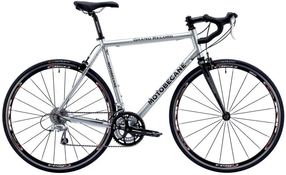64cm Silver Motobecane Grand Record Aluminum Frame Carbon Fork Road Bike 700c Road Bicycle Bikes Bike Cyclocross Bike