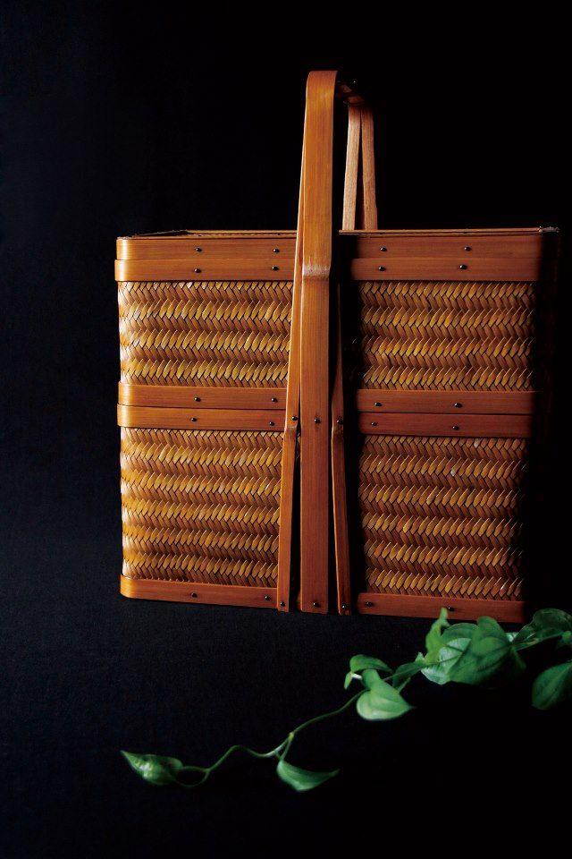 Teiran Bamboo Bag By Kohchosai Kosuga Japan Wood Leather
