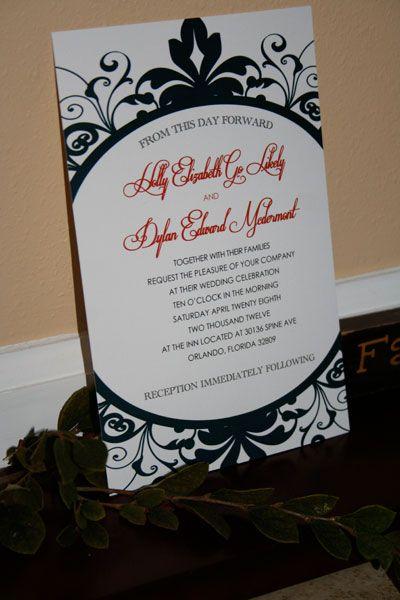 Snow White Wedding Ideas Snow white Invitation design and Rsvp