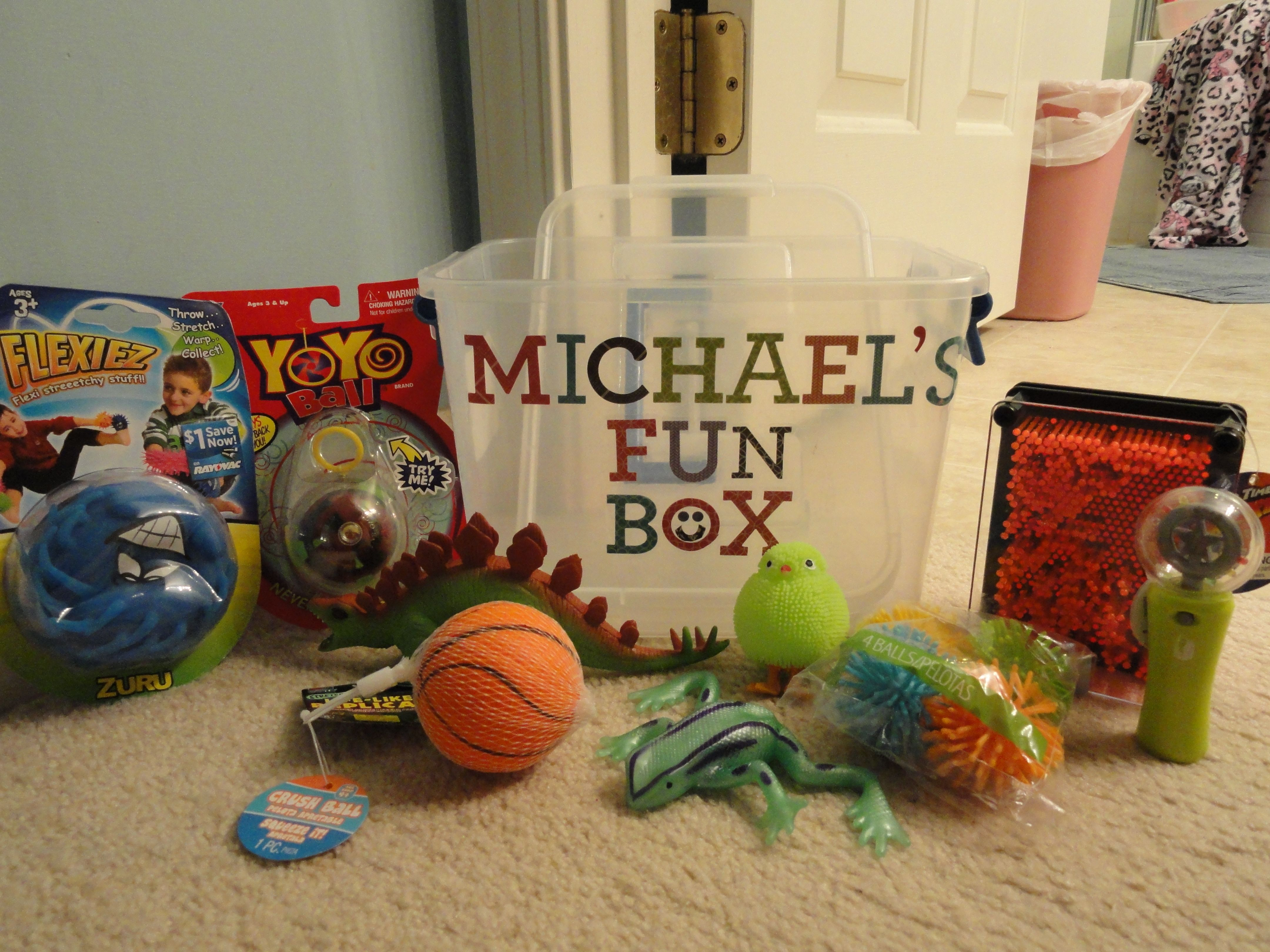 Fun Box BIrthday Gift For My Autistic 7 Year Old Little Friend