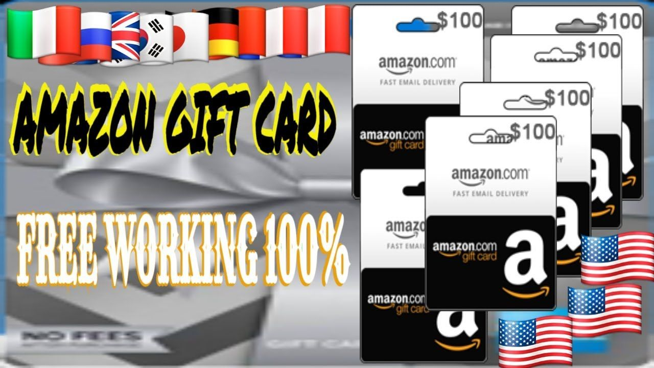 Amazon Gift Card Codes Free Gift Cards Amazon How To Get Free Amazo Free Gift Cards Get Gift Cards Gift Card