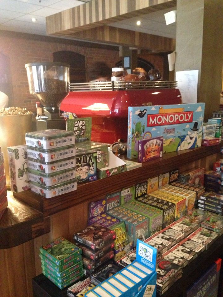 snakes & lattes board game cafe with vegan desserts and