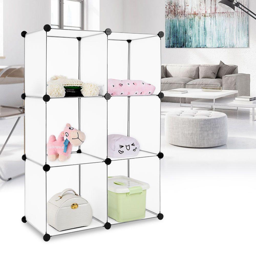 Fresh DIY Steckregal Regalsystem Schuhregal Kleiderschrank Badregal Garderobe Schrank in M bel u Wohnen M bel Kleiderschr nke