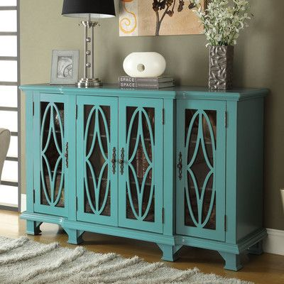 Wildon Home ® Gastonia 4 Door Cabinet & Reviews | Wayfair