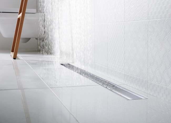 Douchegoot met ronde contouren badkamerkranen en douches pinterest