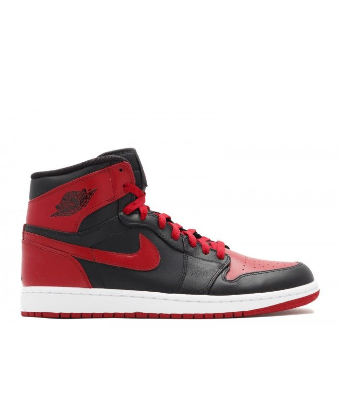 buy online 10f44 baaa3 Air Jordan 1 High Retro Chicago Bulls Black Varsity Red 332550 061