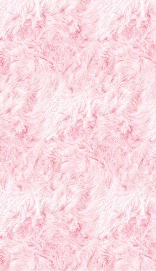 Fluffy Pink Fur IPhone Wallpaper