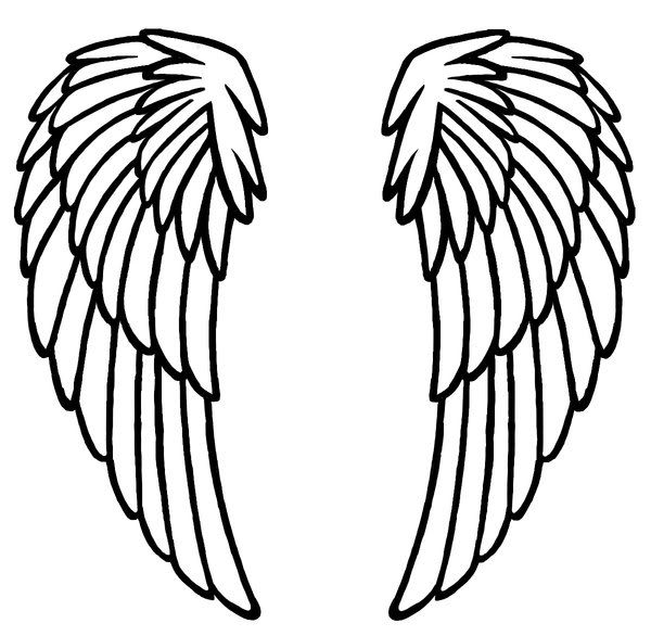 image result for angel wing pattern christmas pinterest wings