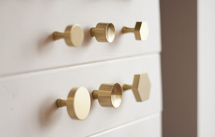 Hardware Revamp | Brass hardware, Hardware and Schoolhouse electric
