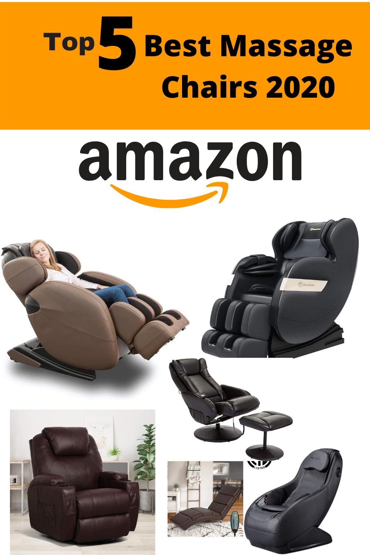 Top 5 Best Massage Chairs 2020 in 2020 Good massage