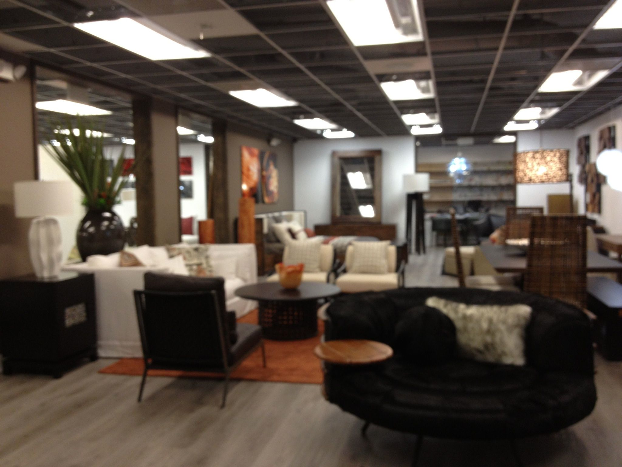 Just Designed this look for Elementos furniture store in Midtown Miami, just the right blend of Contemporary and Warmth, very Miami!!!