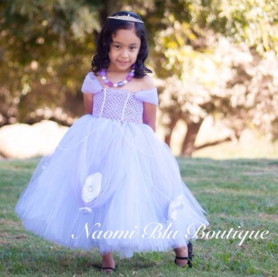 Disney Inspired Sofia the First Tutu Dress. In lavender or pink ...