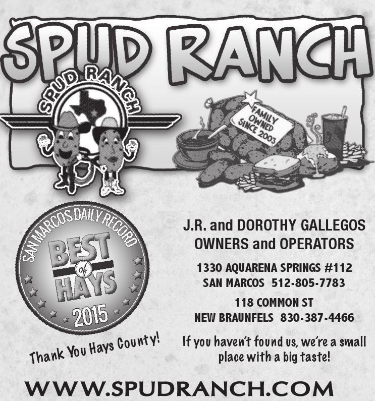 American Flavor In San Marcos Texas Spud Ranch San San Marco Texas