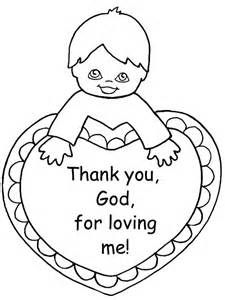 God Loves You Coloring Pages Thank Sunday School Coloring Pages
