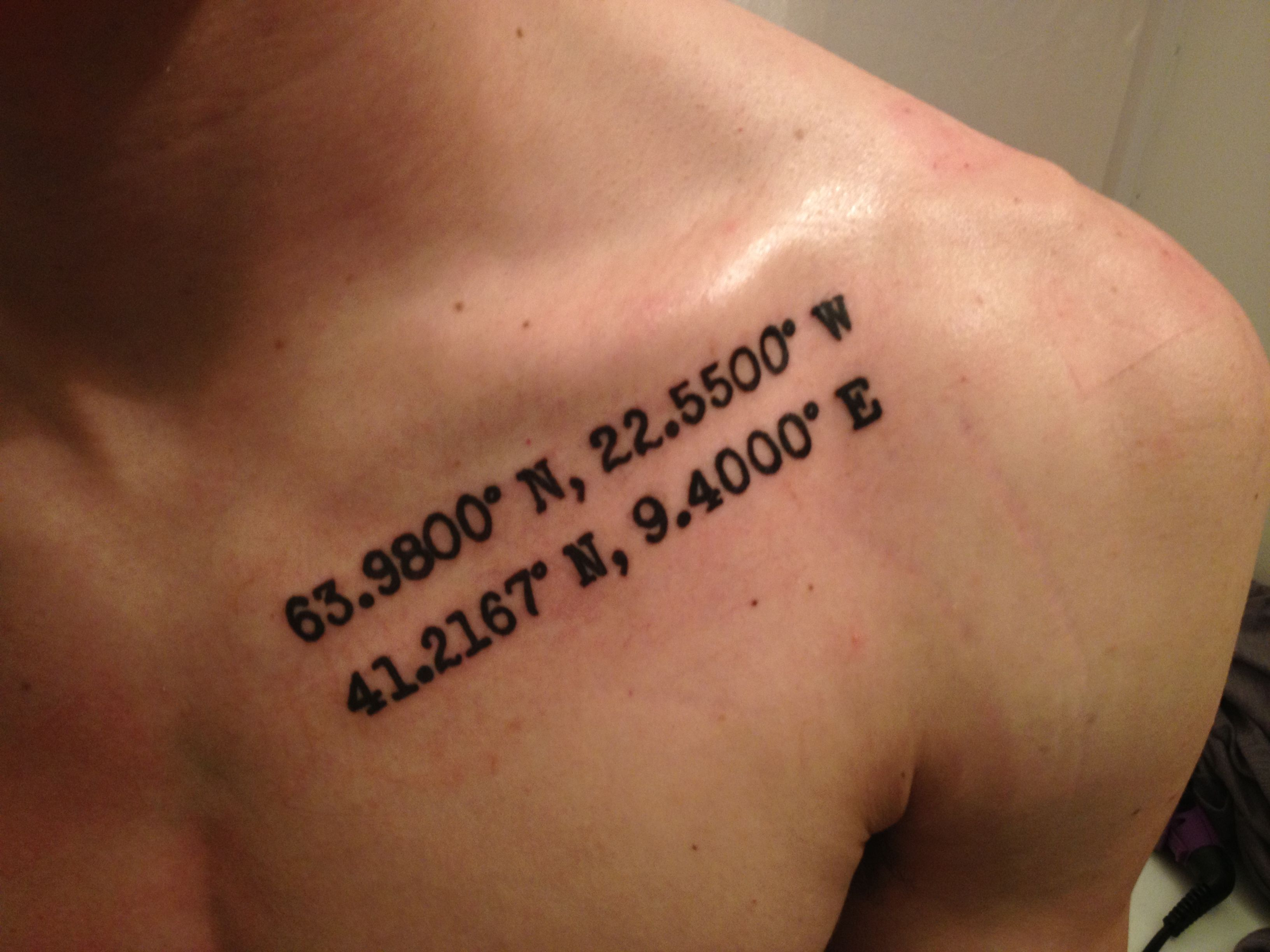 4021a2 italy tattoos designs - Best 25 Latitude Longitude Tattoo Ideas On Pinterest My Coordinates Coordinates Tattoo And Home Tattoo