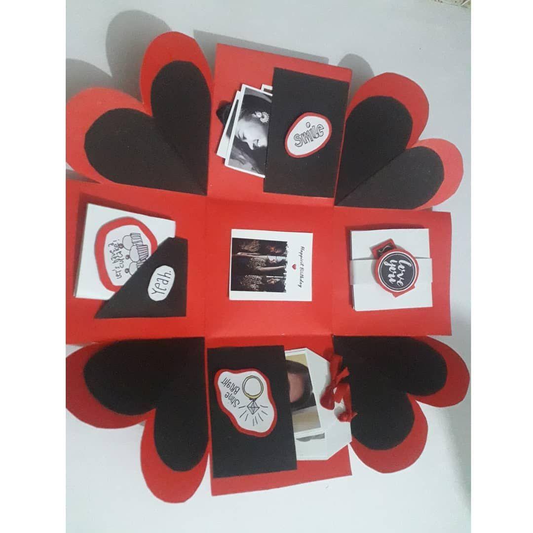 Explpsion Box 🎁 . . . handmadecraft