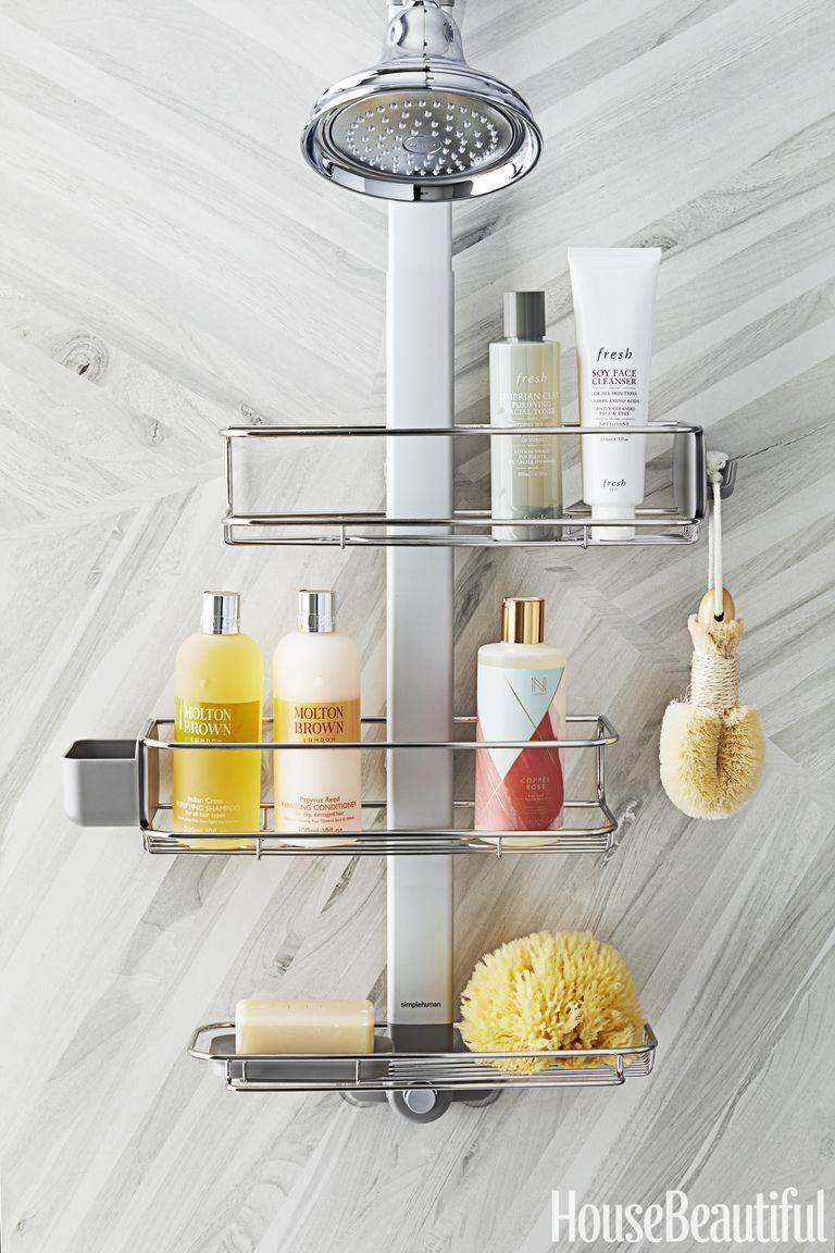 estanter/ía regulable para ducha plus simplehuman