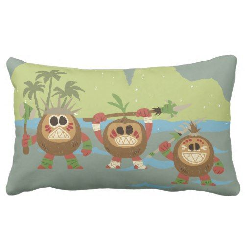 moana  kakamora  mischief makers lumbar pillow  zazzle