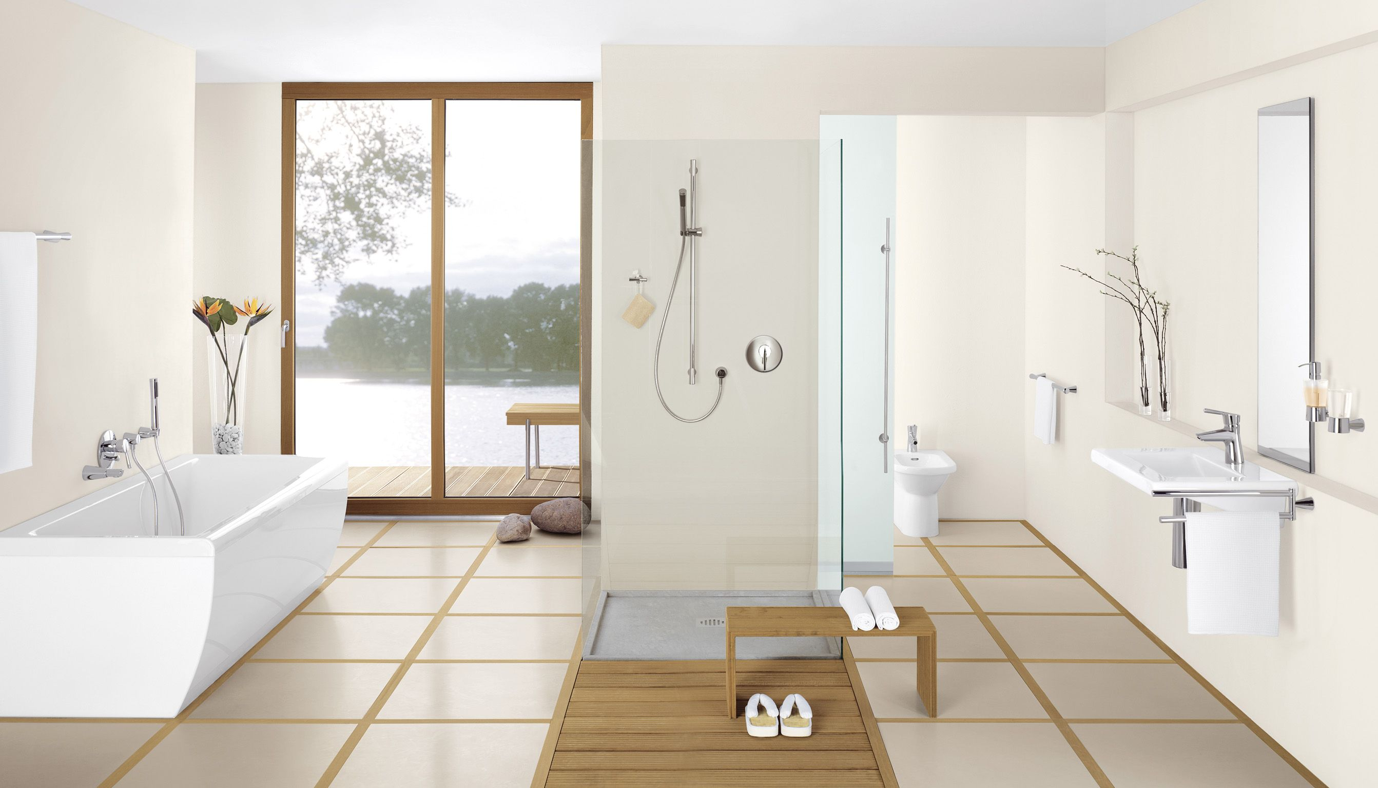 Japanese Style bathroom with Kludi_Bath | Dream Homes | Pinterest ...