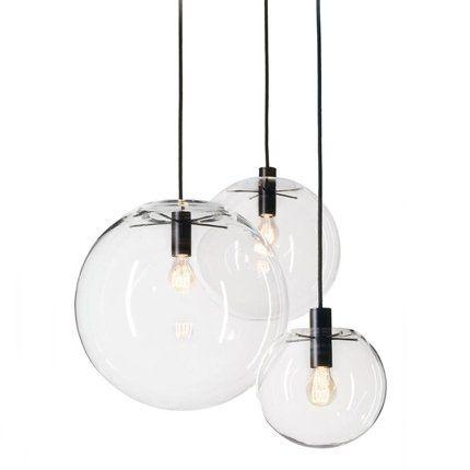 Suspension selene classic on luminaires suspension et for Suspension cuisine verre