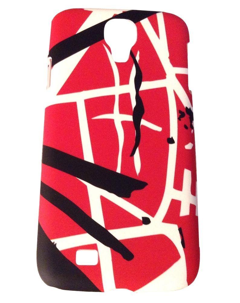 Evh Eddie Van Halen Classic Red Stripes Samsung Galaxy S4 Hardshell Snap On Case Eddie Van Halen Cell Phone Cases Phone Cases
