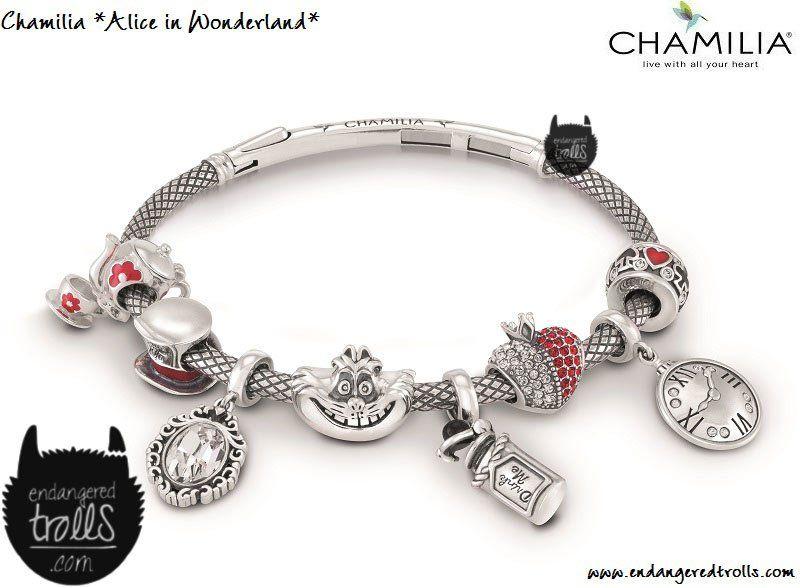 28dba57c71efd Chamilia Disney | outlander | Disney charms, Alice in wonderland ...