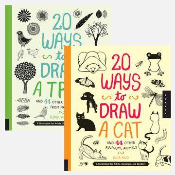 Eloise Renouf, Julia Kuo: 20 Ways to Draw