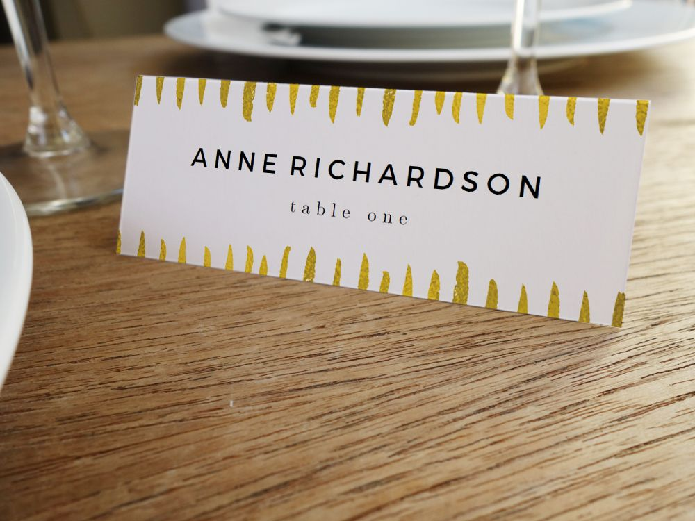 create place cards