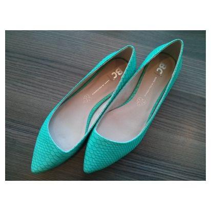 Rebel - green Vegan Shoes