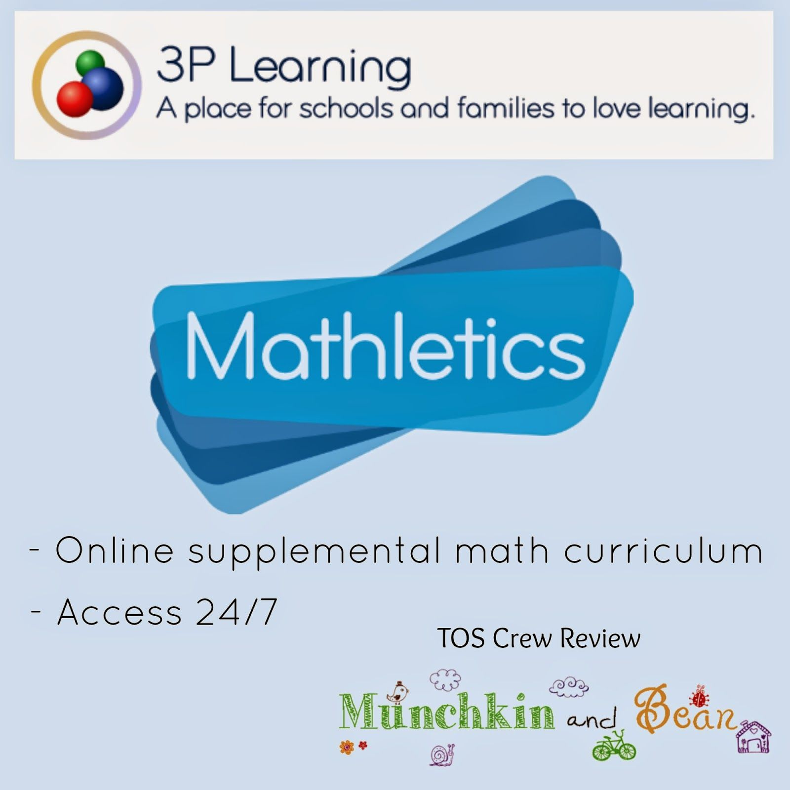 3P Learning - Mathletics Review K/1st ~ TOS Crew Review ~ Munchkin ...