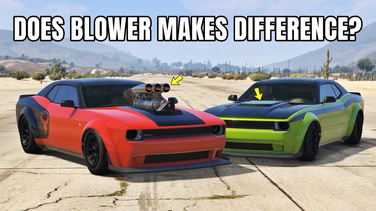 Gta 5 online does blower makes difference blower vs no