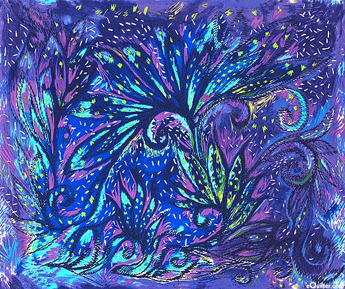Dreaming Tree Bird Of Paradise Violet 36 Quot X 44