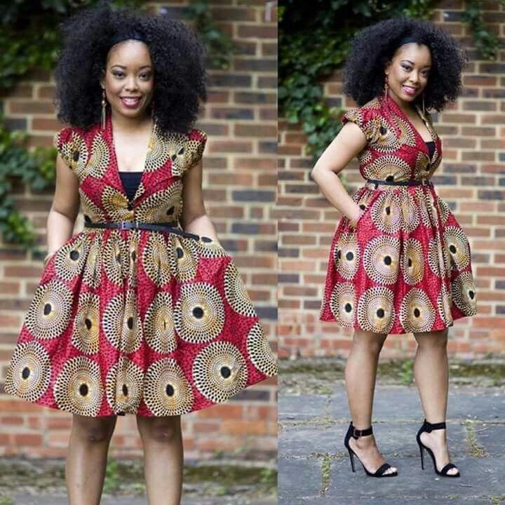 #africanprints dress