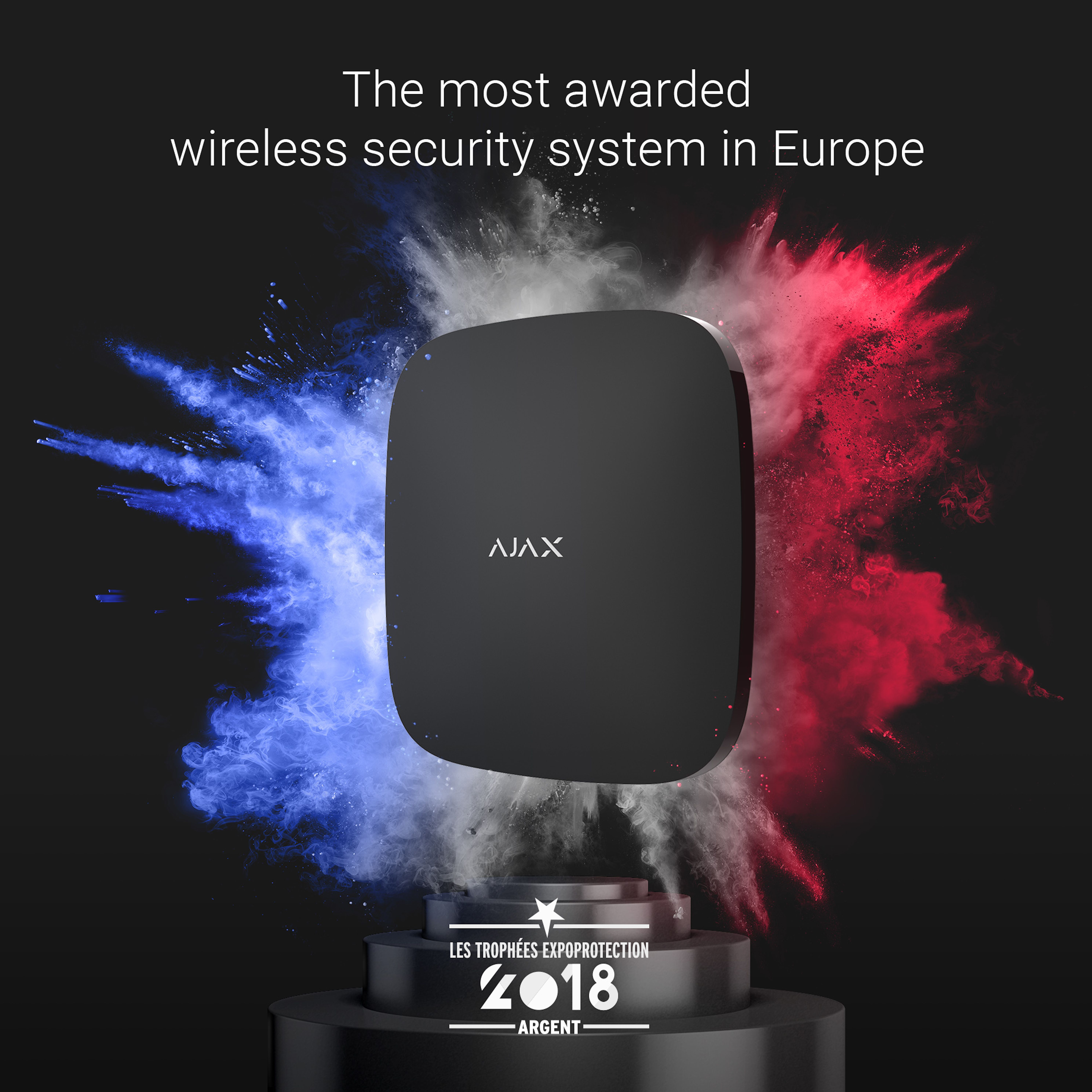 The most awarded wireless security system in Europe