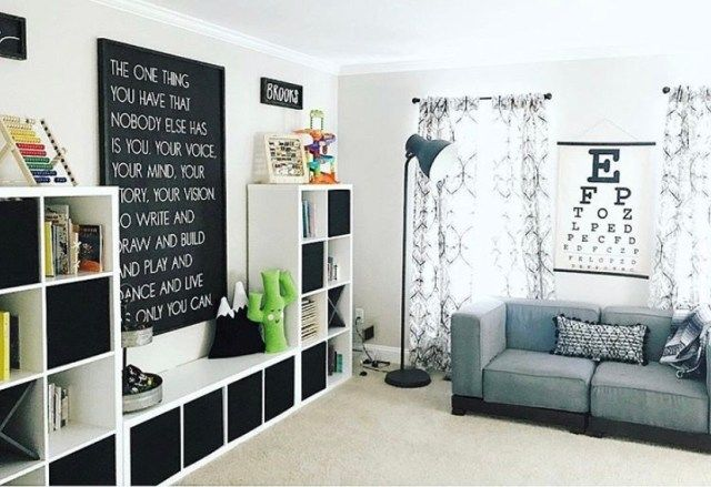 Modern Play Room Designs -How to Style a multi-use play area at home