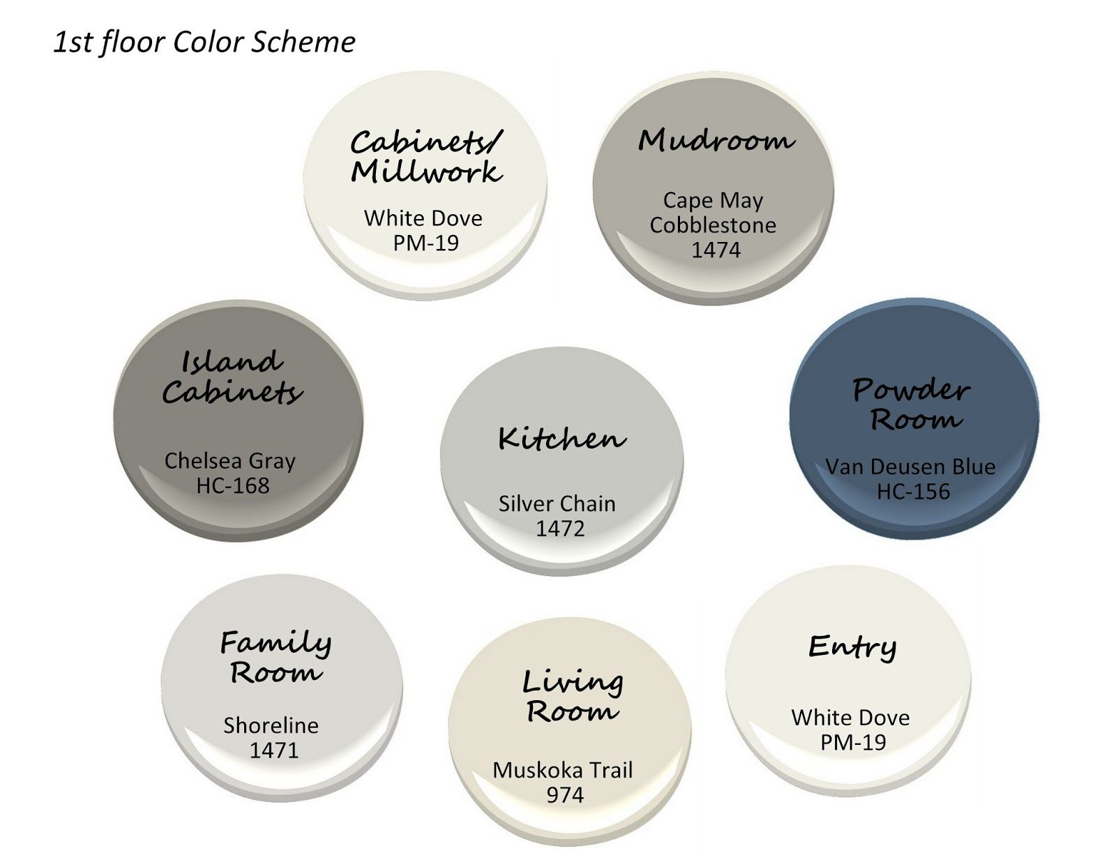 Whole house gray color scheme google search colors - Whole house interior paint palette ...