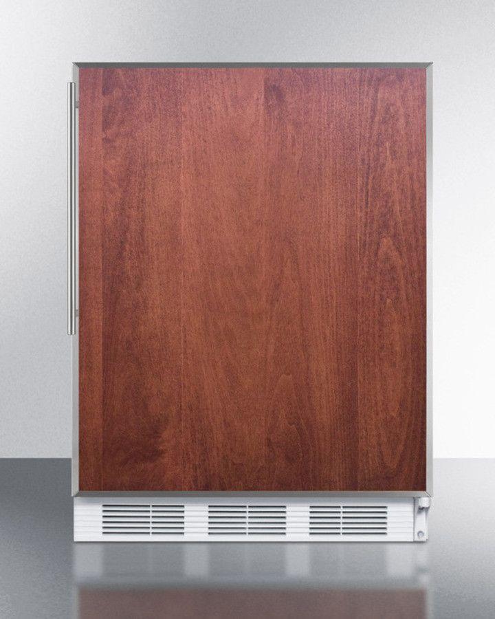 "24"" wide refrigerator-freezer for ADA CT661BIFRADA"
