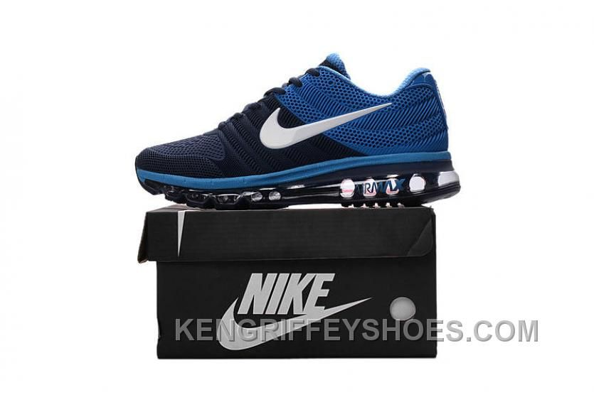 huge discount 536ad a2ee4 Authentic Nike Air Max 2017 KPU Navy Blue White Best Kn6Kt