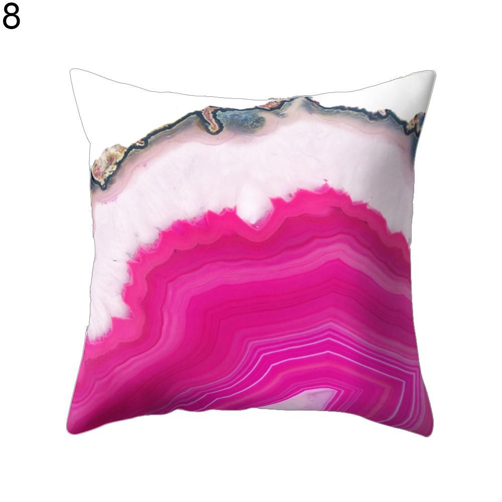 Photo of 18inch Modern Living Room Decoration Abstract Square Pillow Case Cushion Cover – Blue